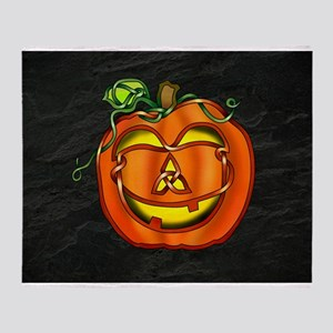 Jack OLantern Throw Blanket