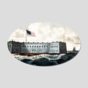 Fort Pickens - Pensacola Harbor, Florida - 1870 20