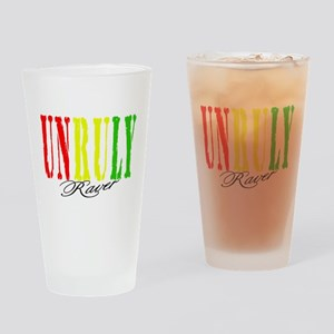 UNRULY RAVER Drinking Glass