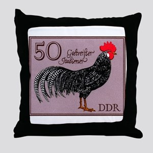 1979 Germany Striped Italian Rooster Stamp Throw P