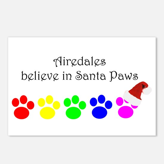 Airedales Believe Postcards (Package of 8)