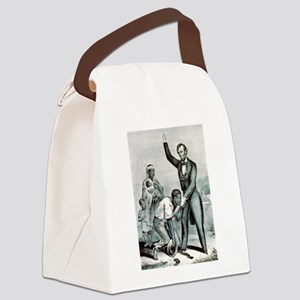 Freedom to the slaves - 1863 Canvas Lunch Bag