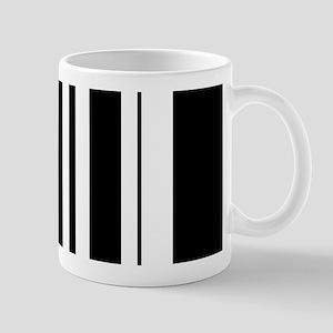 Bold Black Stripe Mug
