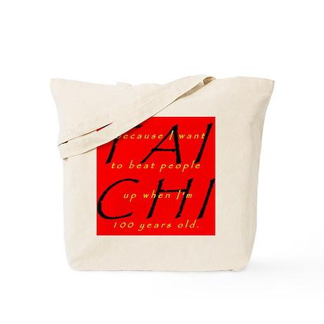 100yr Tai Chi: Frontside Tote Bag