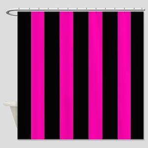 Bold Hot Pink Shower Curtain