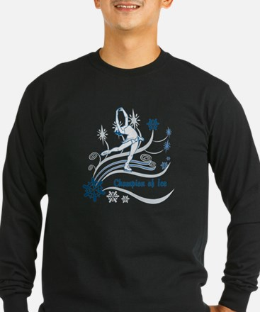 Personalized Ice Skater T