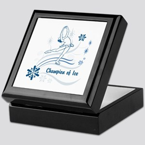 Personalized Ice Skater Keepsake Box