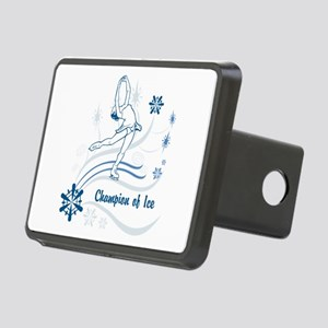 Personalized Ice Skater Rectangular Hitch Cover