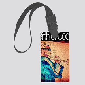 Birth of cool - Miles  Large Luggage Tag