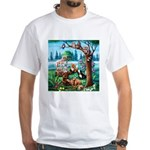 Forest Friends White T-Shirt