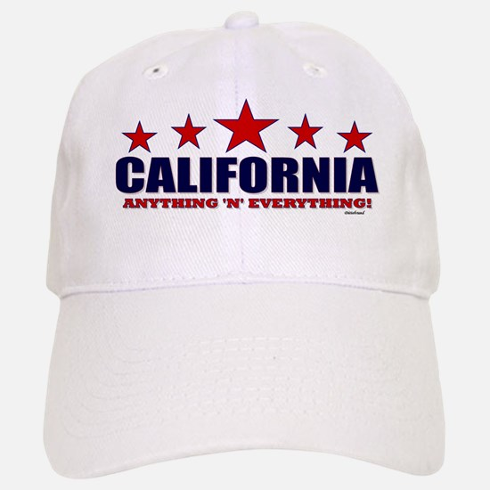 California Anything 'N' Everything Baseball Baseball Cap