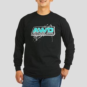 All Wheel Drift Long Sleeve Dark T-Shirt