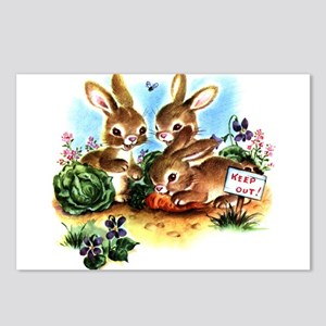 BUNNY PATCH Postcards (Package of 8)