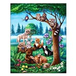 Forest Friends Small 16x20 Poster