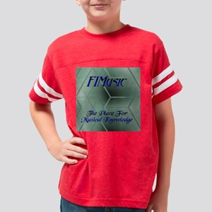 fimusicpillow Youth Football Shirt