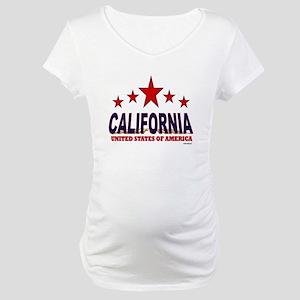 California U.S.A. Maternity T-Shirt