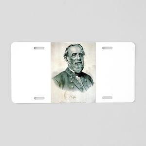 General Robert E. Lee - 1870 Aluminum License Plat