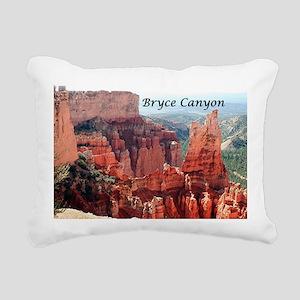 Bryce Canyon, Utah, USA  Rectangular Canvas Pillow