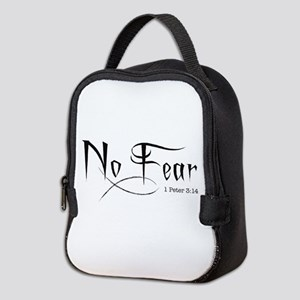 No Fear - Neoprene Lunch Bag