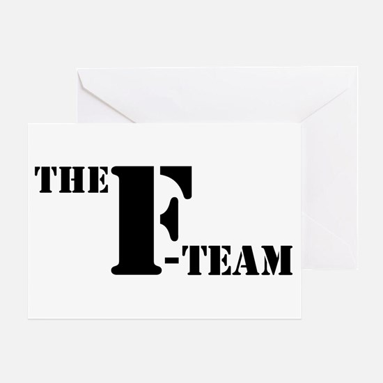 The F Team Greeting Card