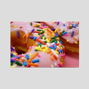 Donut/Doughnut Rectangle Magnet