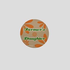 Farmer's Daughter Mini Button