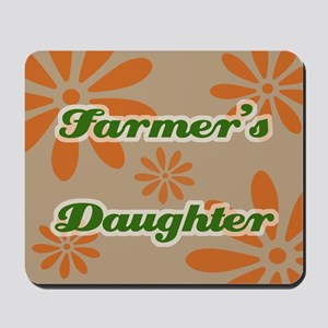 Farmer's Daughter Mousepad