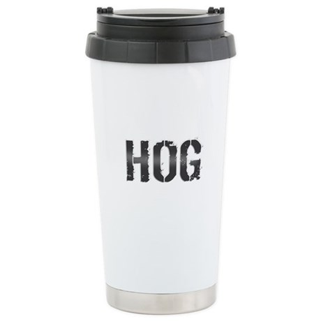 HOG. Stainless Steel Travel Mug