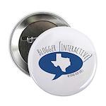 """Blogger Interactive Logo 2.25"""" Button"""