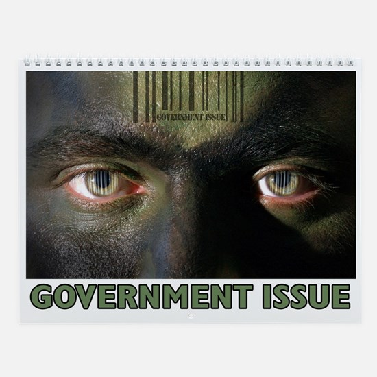 """Government Issue"" Wall Calendar"
