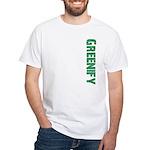 Greenify White T-Shirt