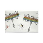 swiftly too Rectangle Magnet (100 pack)