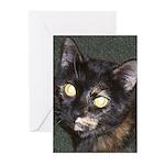 Dark Tort Greeting Cards (Pk of 10)