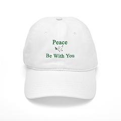 Peace be with you Baseball Baseball Cap