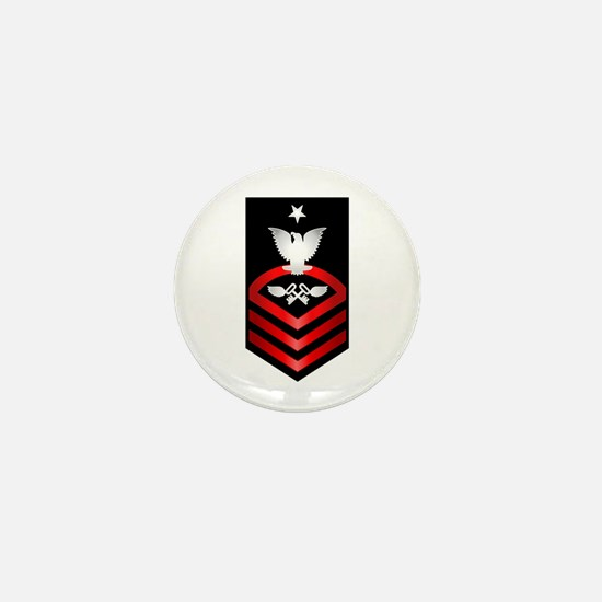 Navy Senior Chief Aviation Storekeeper Mini Button
