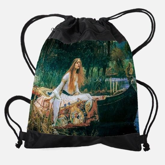 Waterhouse: Lady of Shalott Drawstring Bag
