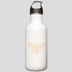 Lined image of a Bee for Honey Lovers Water Bottle