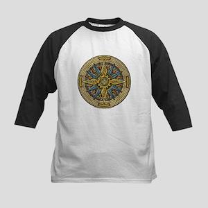 Celtic Compass Kids Baseball Jersey