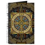 Celtic compass Journals & Spiral Notebooks