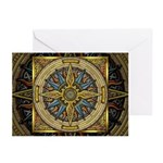 Celtic Compass Greeting Cards (Pk of 10)