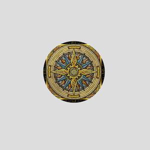 Celtic Compass Mini Button