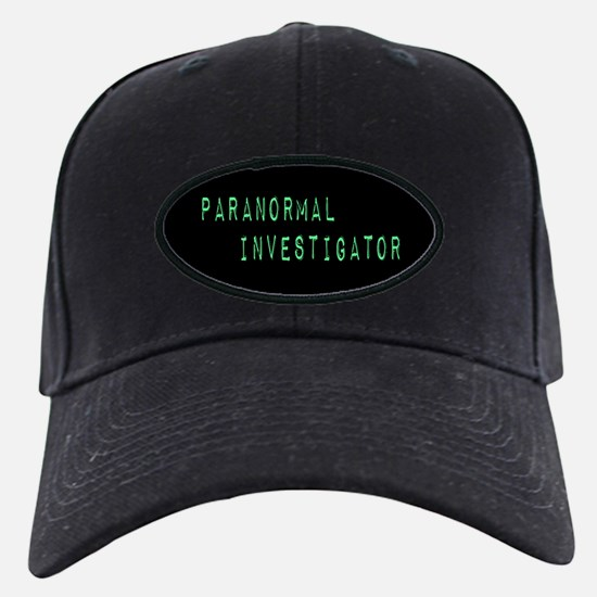 Paranormal Investigator (Label) Baseball Hat