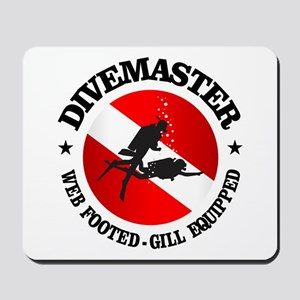 Divemaster (Round) Mousepad