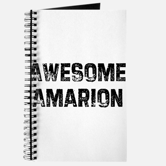 Awesome Amarion Journal