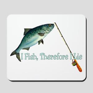 Fisherman Shirt Mousepad