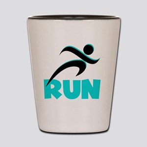 RUN Aqua Shot Glass