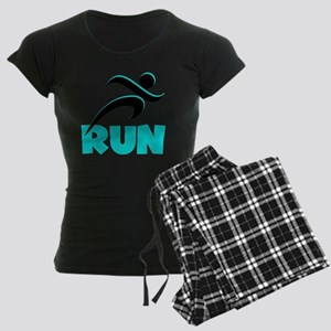 RUN Aqua Women's Dark Pajamas