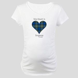 Heart - Ferguson of Atholl Maternity T-Shirt
