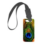 Peacock Small Luggage Tag