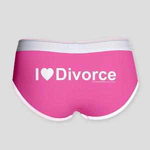 Divorce Women's Boy Brief